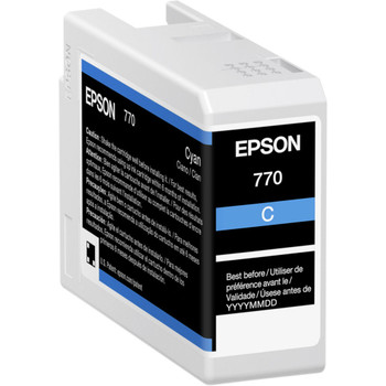 Epson UltraChrome PRO 770 Original Ink Cartridge - Cyan