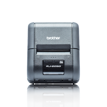 Brother RuggedJet RJ-2050 Direct Thermal Printer - Monochrome - Portable - Receipt Print