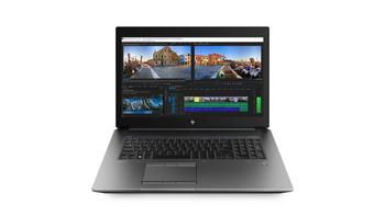 HP ZBook 17 G5 W10P-64 i7-8850H 1TB SATA 32GB (2x16GB) DDR4 2666 17.3 FHD NVIDIA Quadro P3200 6GB NIC WLAN BT ODD FPR No-Cam No-NFC