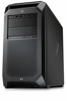 HP z8 G4 W10P-64 2P X 4108 1.8GHz 3 4TB SATA 256GB NVME 64GB(4x16GB) ECC DDR4 2666 DVDRW Quadro P2200 5GB Tower