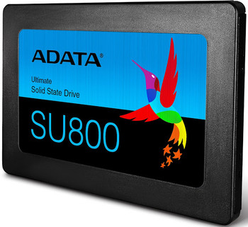 "Adata Ultimate SU800 ASU800SS-128GT-C 128 GB Solid State Drive - 2.5"" Internal - SATA (SATA/600) - Black"