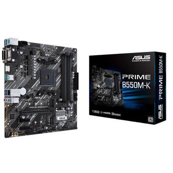 Asus Prime B550M-K Desktop Motherboard - AMD Chipset - Socket AM4