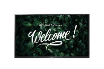 "LG IPS TV Signage for Business Use - 65"" LCD - 3840 x 2160 - LED - 400 Nit - 2160p - HDMI - USB - SerialEthernet"