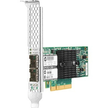 HPE Ethernet 10Gb 2-port 546SFP+ Adapter - PCI Express 3.0 x8 - 2 Port(s) - Optical Fiber