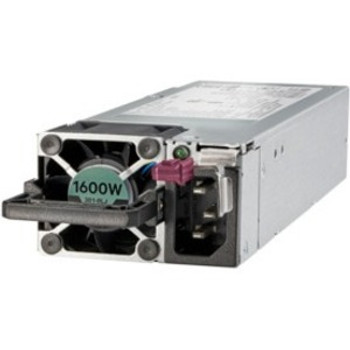 HPE 1600W Flex Slot Platinum Hot Plug Low Halogen Power Supply Kit - 1600 W - 230 V AC, 380 V DC