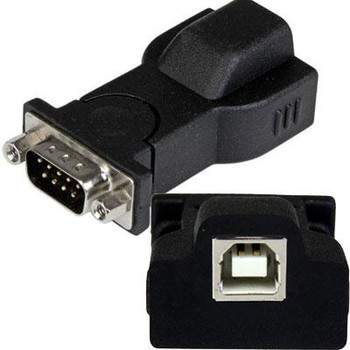 StarTech.com USB to Serial Adapter - Detachable 6 ft USB A-B Cable - Prolific PL-2303 - USB to RS232 Adapter Cable