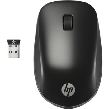 HP Ultra Mobile Wireless Mouse - Wireless - Radio Frequency - 2.40 GHz - USB - Scroll Wheel - 3 Button (s) - Symmetrical