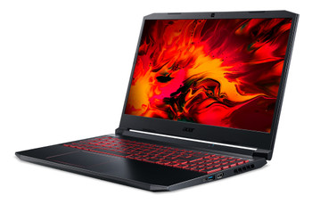 "Acer Nitro 5 AN515-44 AN515-44-R078 15.6"" Gaming Notebook - Full HD - 1920 x 1080 - AMD Ryzen 5 4600H Hexa-core (6 Core) 3 GHz - 8 GB RAM - 256 GB SSD - Obsidian Black"