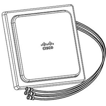 Cisco Aironet Antenna - 2.40 GHz, 5 GHz - 4 dBi - Indoor, Wireless Access PointCeiling Mount - Omni-directional - RP-TNC Connector