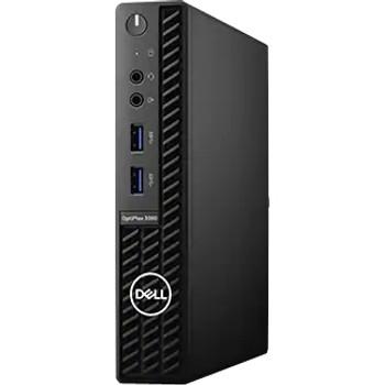 Dell OptiPlex 3000 3080 Desktop Computer - Intel Core i3 10th Gen i3-10100T Quad-core (4 Core) 3 GHz - 4 GB RAM DDR4 SDRAM - 500 GB HDD - Micro PC