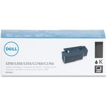 Dell Original Toner Cartridge - Laser - 2000 Pages - Black - 1 Each
