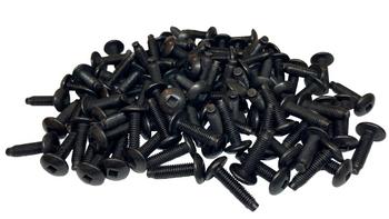 10-32 Pilot Point Rack Screws - 100 Pack USA Made