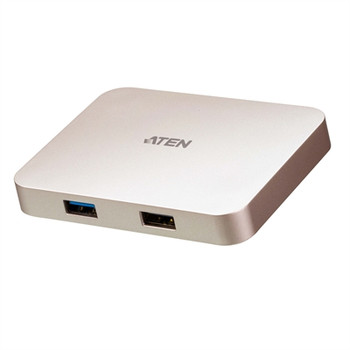 Aten USB-C 4K Ultra Mini Dock with Power Pass-through
