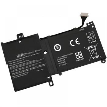 Compatible Laptop Battery Replaces HP TPN-Q164, 796219-421, 796355-005, HSTNN-LB6P, HV02XL, TPN-Q164, TPN-W112 - 4200mAh 4 cell battery for HP Pavilion X360 11-K Series, 796219-421, HV02XL