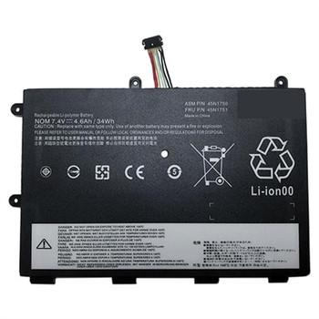 Compatible Laptop Battery Replaces Lenovo 45N1750 - 4600mAh 4 cell Battery for Lenovo Thinkpad Yoga 11e