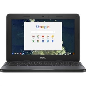"Dell Chromebook 11 3000 3100 11.6"" Chromebook - HD - 1366 x 768 - Intel Celeron N4020 Dual-core (2 Core) - 4 GB RAM - 32 GB Flash Memory"