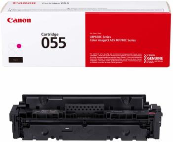 Canon 055 Original Toner Cartridge - Magenta - 3014C001AA