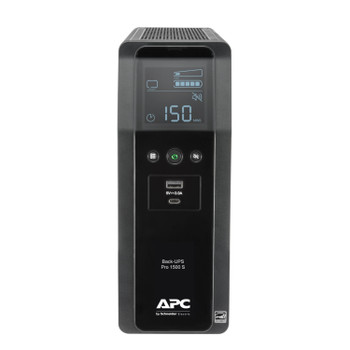 APC by Schneider Electric Back UPS PRO 1500VA Line Interactive Tower UPS