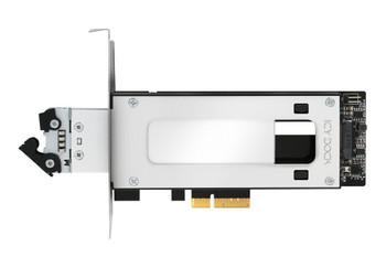 Icy Dock ToughArmor MB840M2P-B Drive Bay Adapter M.2, PCI Express NVMe - PCI Express 3.0 x4 Host Interface - Black, Silver