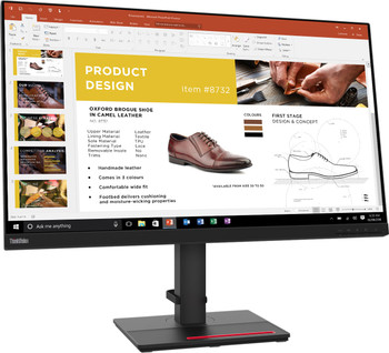 "Lenovo ThinkVision P32P-20 31.5"" 4K UHD WLED LCD Monitor - 16:9 - Raven Black"