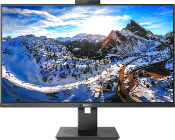 "Philips 329P1H 31.5"" 4K UHD WLED LCD Monitor - 16:9 - Textured Black"