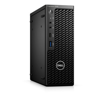 Dell Precision 3000 3240 Workstation - Intel Core i5 Hexa-core (6 Core) i5-10500 10th Gen 3.10 GHz - 8 GB DDR4 SDRAM RAM - 256 GB SSD - Ultra Small