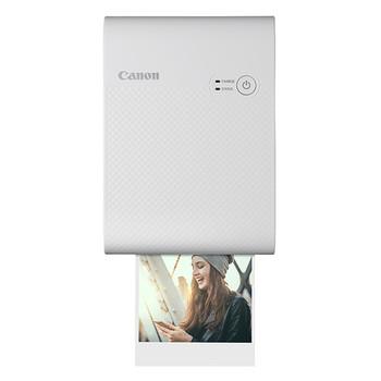 Canon SELPHY QX10 Dye Sublimation Printer - Color - Photo Print - Portable - White