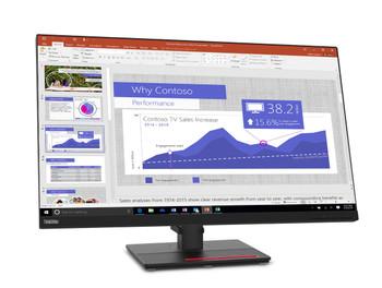 """Lenovo ThinkVision T32p-20 31.5"""" 4K UHD LED LCD Monitor - 16:9 - Raven Black"""
