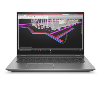 HP ZBook Fury 17 G7 W10P-64 i9 10885H 2.4GHz 512GB NVME 32GB(4x8GB) DDR4 2666 17.3FHD WLAN BT BL FPR Quadro RTX 4000 8GB Cam