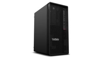 Lenovo ThinkStation P340 30DH00JEUS Workstation - 1 x Intel Octa-core (8 Core) i7-10700K 3.80 GHz - 16 GB DDR4 SDRAM RAM - 512 GB SSD - Tower - Raven Black