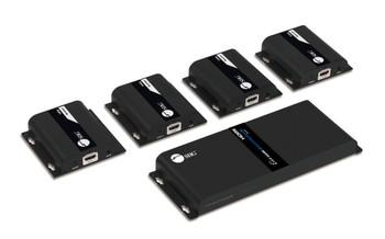 SIIG 1x4 1080p HDMI Splitter HDbitT over IP Extender Kit - 120m