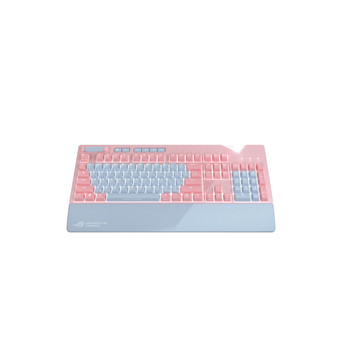 Asus ROG Strix Flare PNK LTD Gaming Keyboard - Pink, Gray