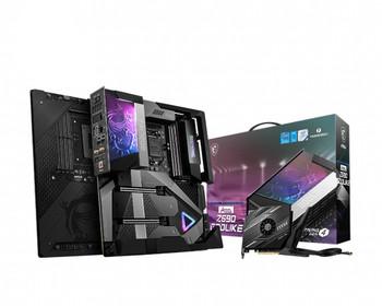 MSI MEG Z590 GODLIKE Desktop Motherboard - Intel Chipset - Socket LGA-1200 - Intel Optane Memory Ready - Extended ATX