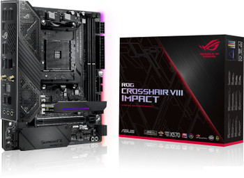 Asus ROG Crosshair VIII Impact Desktop Motherboard - AMD Chipset - Socket AM4 - Mini DTX