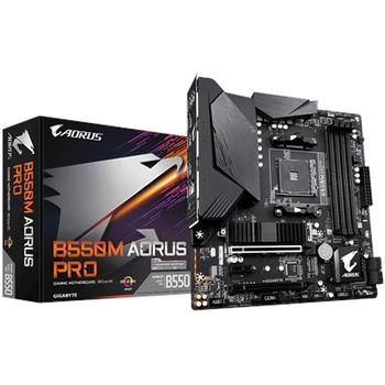 Aorus Ultra Durable B550M AORUS PRO Desktop Motherboard - AMD Chipset - Socket AM4 - Micro ATX