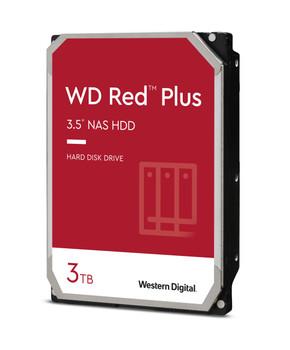 "WD Red Plus WD30EFZX 3 TB Hard Drive - 3.5"" Internal - SATA (SATA/600) - WD30EFZX"