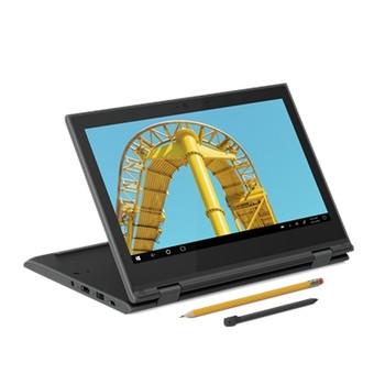 "Lenovo 300e (2nd Gen) 82GK001PUS 11.6"" Touchscreen Rugged 2 in 1 Notebook - HD - 1366 x 768 - AMD 3015e Dual-core (2 Core) 1.20 GHz - 4 GB RAM - 64 GB Flash Memory - Black"