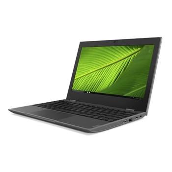 "Lenovo 100e (2nd Gen) 82GJ000GUS 11.6"" Netbook - HD - 1366 x 768 - AMD 3015e Dual-core (2 Core) 1.20 GHz - 4 GB RAM - 64 GB Flash Memory - Black"
