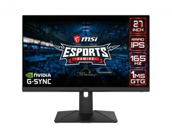 """MSI Optix G273QPF 27"""" WQHD LED Gaming LCD Monitor - 16:9"""