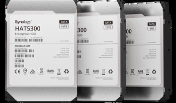 "Synology HAT5300-12T 12 TB Hard Drive - 3.5"" Internal - SATA (SATA/600) - Server, Storage System Device Supported - 7200rpm - 550 TB TBW"