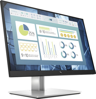 "HP E22 G4 21.5"" Full HD LED LCD Monitor - 16:9 - Black, Silver - 9VH72AA#ABA"