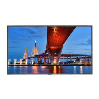 """NEC Display 65"""" Ultra High Definition Commercial Display with Integrated ATSC/NTSC Tuner"""