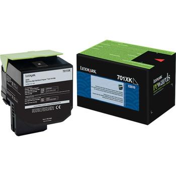 Lexmark Unison 701XK Toner Cartridge - Black