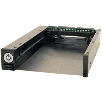 CRU DataPort 25 DP25 Drive Bay Adapter - 6Gb/s SAS, Serial ATA/600 Host Interface Internal - Black