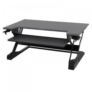 Ergotron WorkFit-TL, Sit-Stand Desktop Workstation (Black)