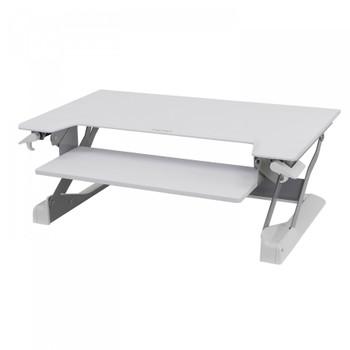 Ergotron WorkFit-TL, Sit-Stand Desktop Workstation (White)