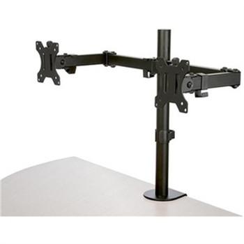 StarTech.com Desk Mount Dual Monitor Arm - Ergonomic VESA Compatible Mount for up to 32 inch Display - Desk Clamp / Grommet - Articulating