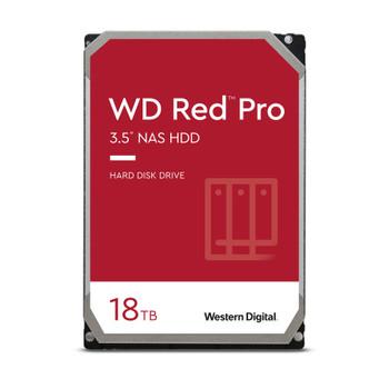 """WD Red Pro WD181KFGX 18 TB Hard Drive - 3.5"""" Internal - SATA (SATA/600)"""