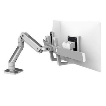Ergotron Mounting Arm for Monitor, TV - Polished Aluminum - 45-476-026
