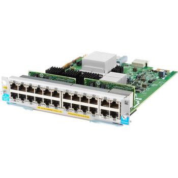 HPE Expansion Module - For Data Networking - 20 x RJ-45 1000Base-T LAN, 4 x RJ-45 10GBase-T LAN - Twisted PairGigabit Ethernet, 10 Gigabit Ethernet - 1000Base-T, 10GBase-T - 10 Gbit/s